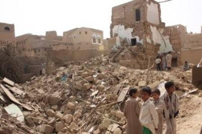 Almotamar Net - Three citizens were killed and four others wounded in two Saudi air strikes hit Majza district of Saada province, an official said on Tuesday.
