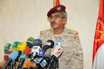 Almotamar Net - The Army forces spokesman, Brigadier General Sharaf Luqman, denied Saudi lies that a ballistic missile targeted a Saudi government-run companies residential complex in the southern border province of Najran, confirming that the missile hit a military target, in a statement.